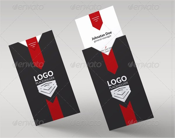Folded Business Card Template Awesome 22 Folded Business Cards Psd Ai Vector Eps
