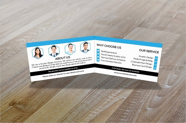 Folded Business Card Template Inspirational 36 Modern Business Card Templates Pages Psd Word Ai