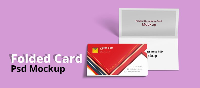 Folded Business Card Template Luxury 25 Free Best Design Psd Mockup Templates Techclient