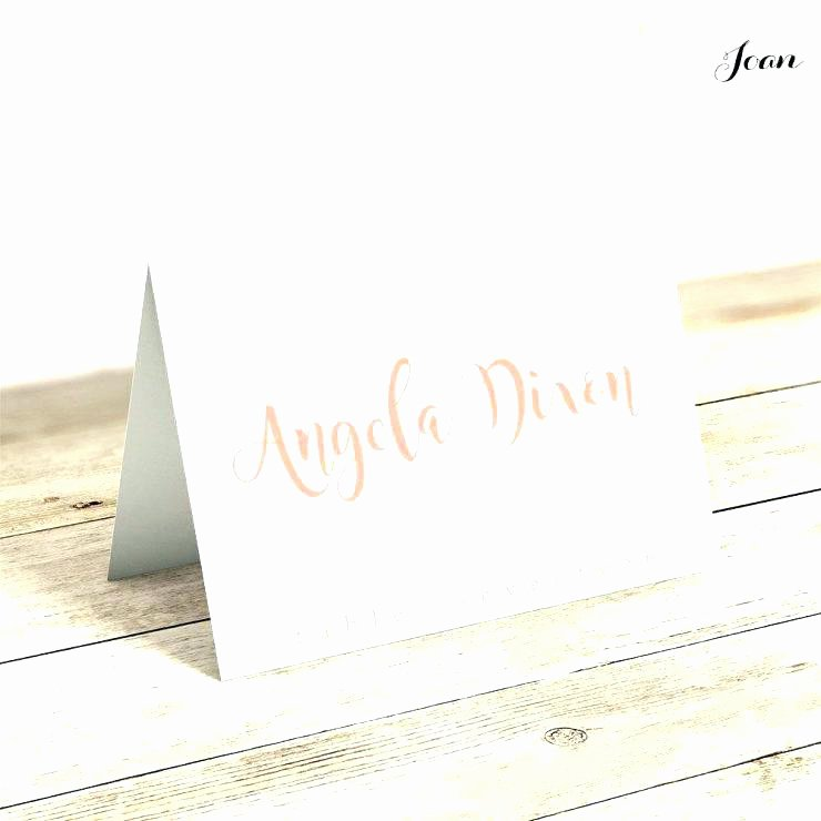 Folded Name Card Template Inspirational Wedding Table Name Cards Mpla Place Printable Mplas Free