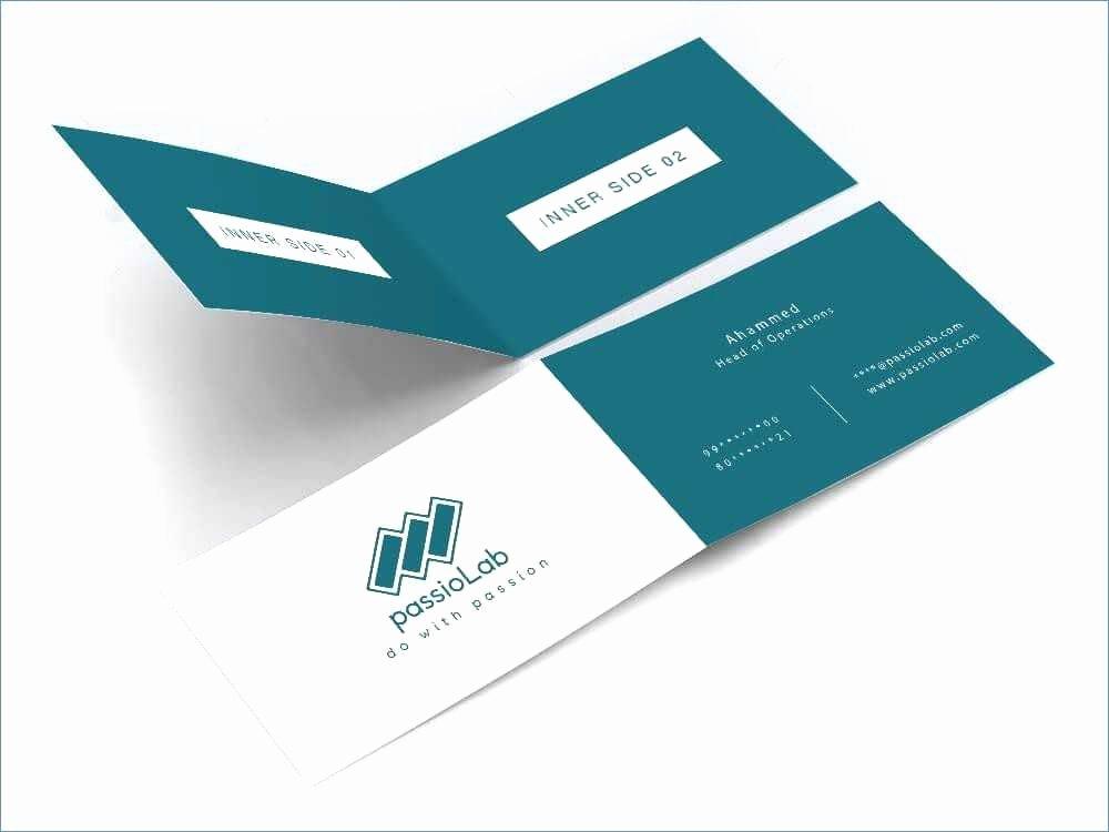 Folding Business Card Template Luxury 27 Fresh Folding Business Card Template Gallery Resume