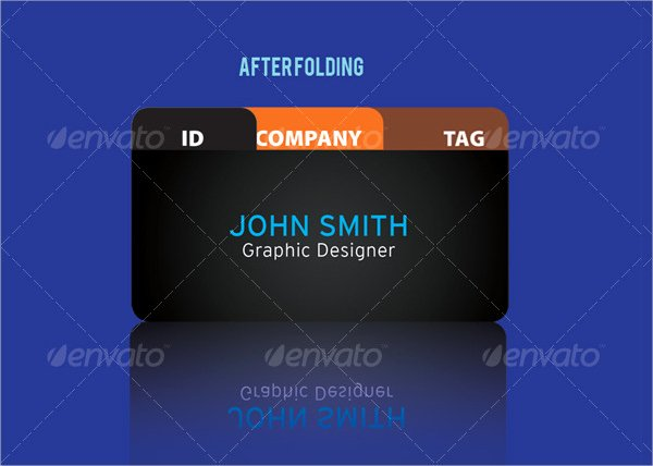 Folding Business Cards Template Awesome Download Folded Business Cards for Free Tidytemplates