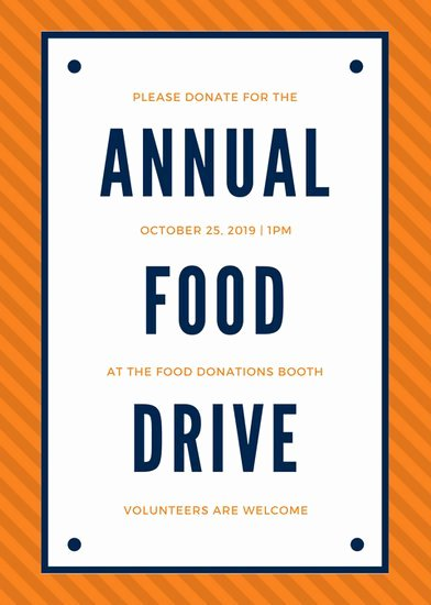 Food Drive Flyer Template Elegant Food Drive Flyer Template Yourweek D44a8beca25e