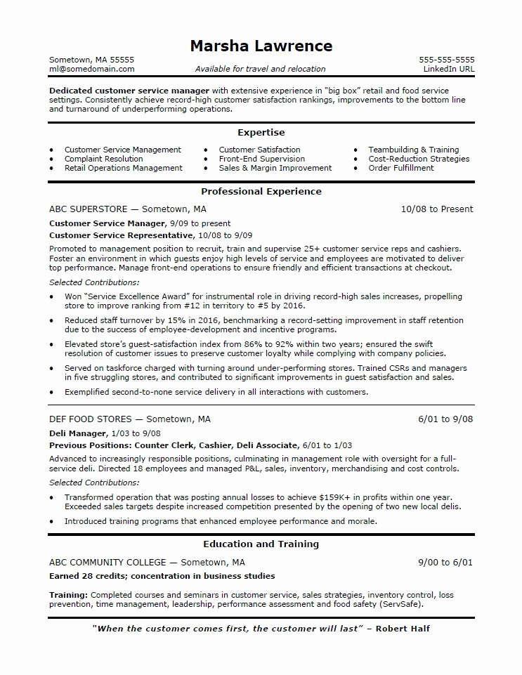 Food Service Resume Template Unique Resume Examples Food Service Template Resume Samples for