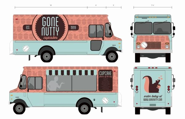 Food Truck Design Template Best Of 17 Best Images About Food Trucks On Pinterest