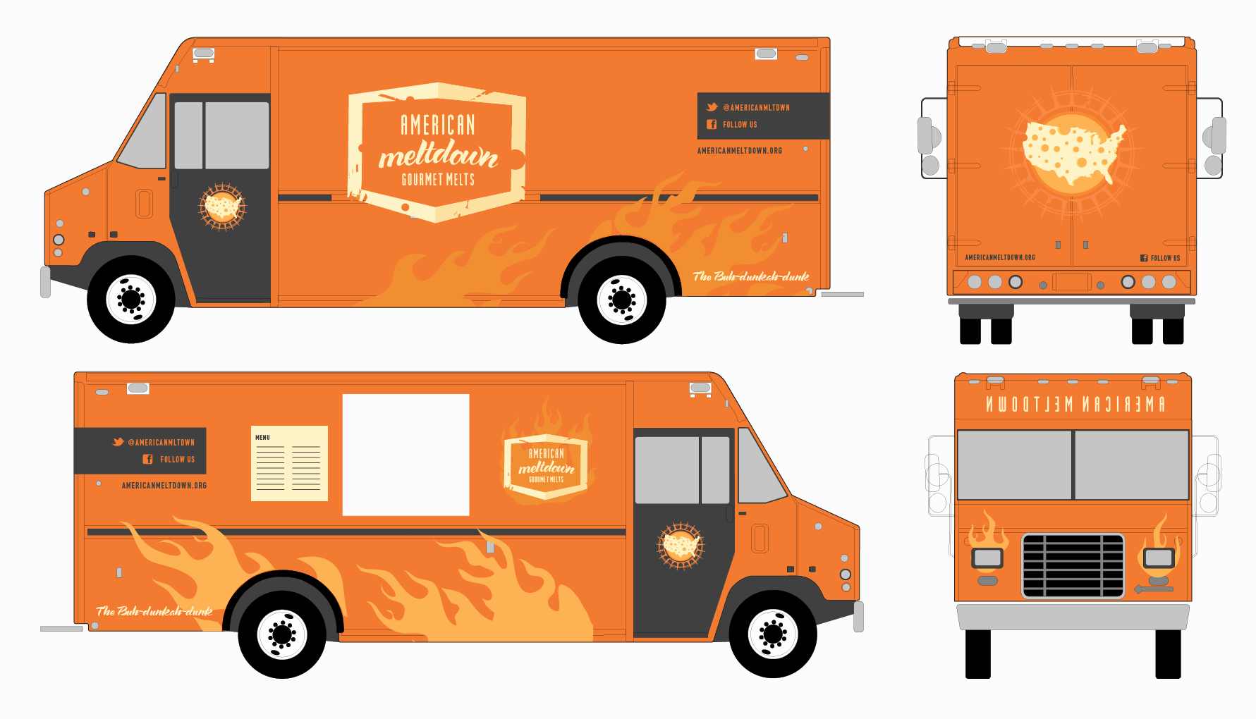 Food Truck Design Template Best Of Blank Food Truck Logo Templates to Pin On