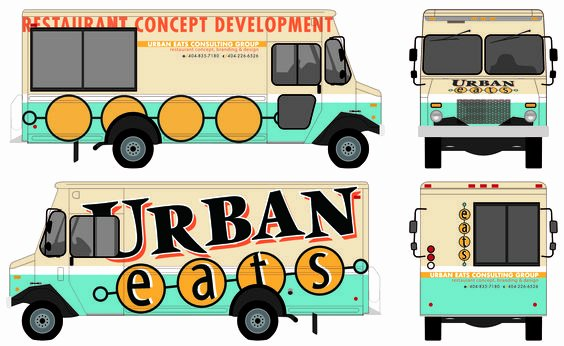 Food Truck Design Template Best Of Food Truck Trucks and Templates On Pinterest
