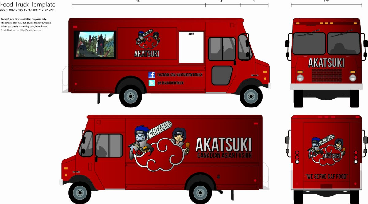 Food Truck Design Template Lovely Designing Your Own Food Truck