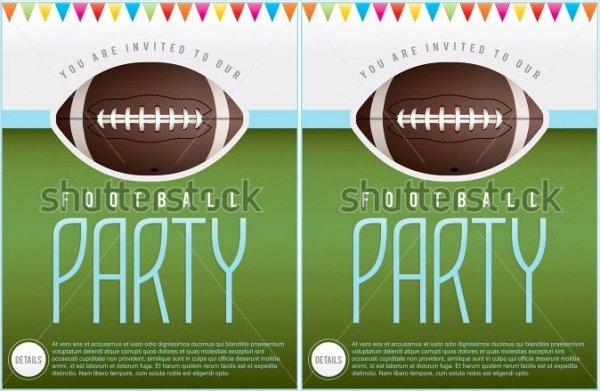 Football Invitation Template Free Inspirational 21 Football Invitation Designs Psd Vector Eps Jpg
