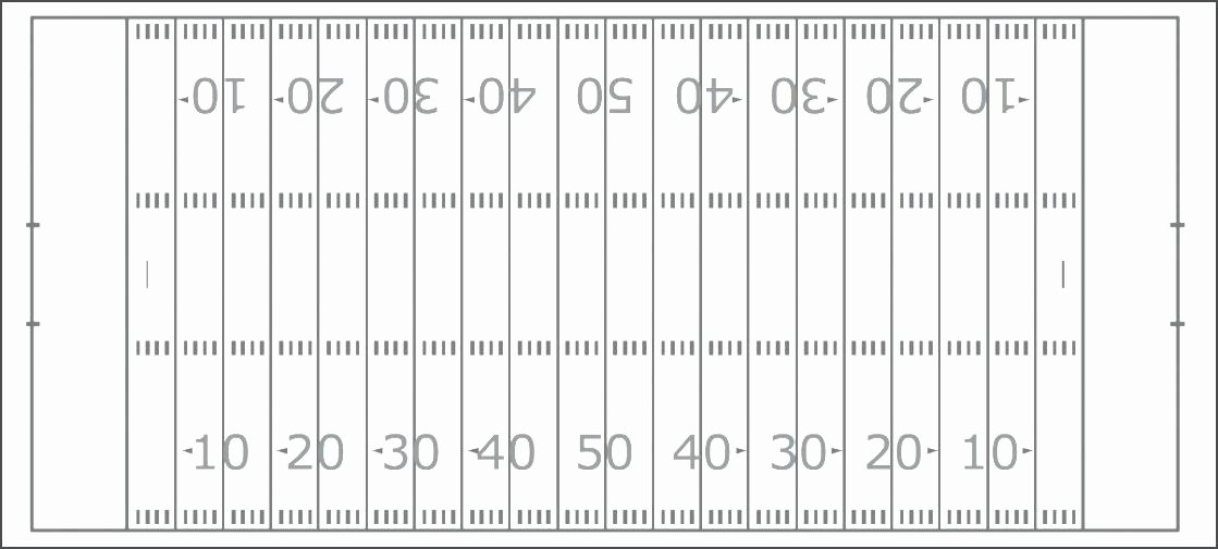 Football Offensive formations Template Beautiful Blank Football Play Sheet Template Printable Square Pool