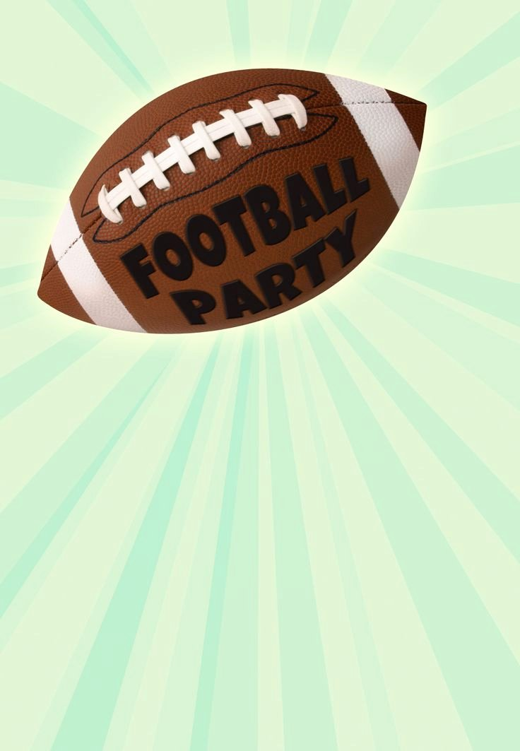 Football Party Invitation Template Awesome 41 Best Images About Party Invitation Templates On