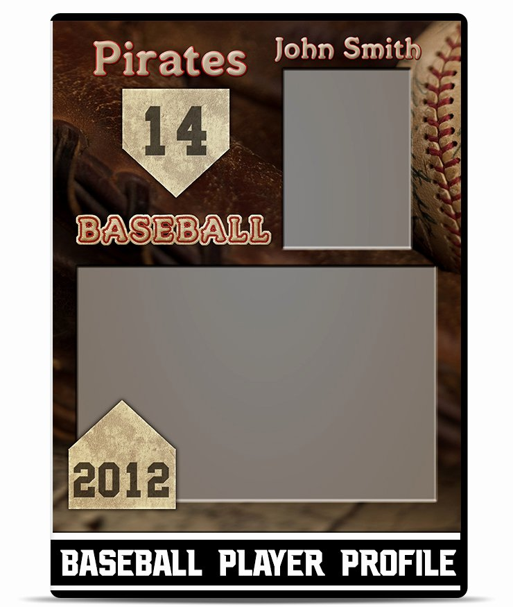 Football Player Profile Template Awesome Baseball – Player Profile Template
