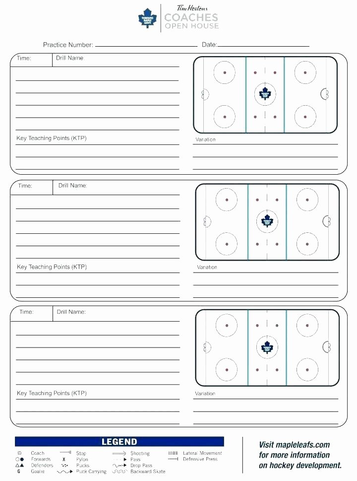 Football Practice Schedule Template Best Of 97 Blank Basketball Practice Plan Template for Drawing