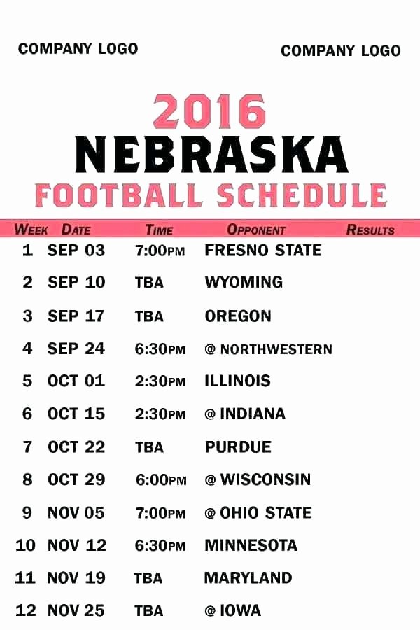 Football Practice Schedule Template Best Of College Football Practice Schedule Template – Bunnycampfo
