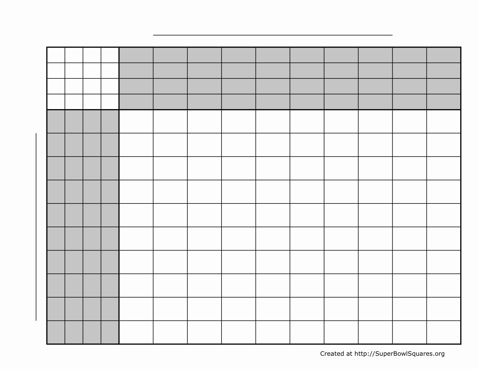 Football Squares Template Excel Elegant How to Play Football Squares