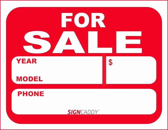 For Sale Template Word Beautiful Car for Sale Sign Template Free Dealer Download Word Car