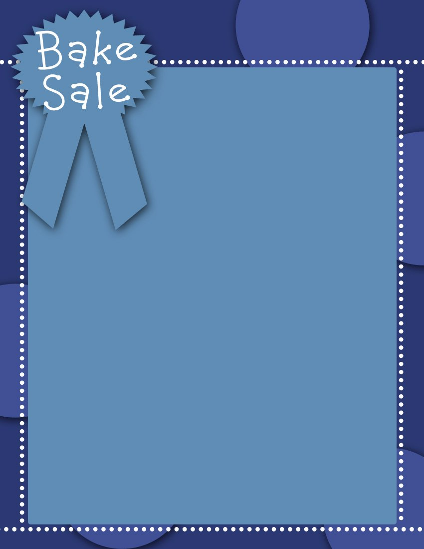 For Sale Template Word New Craft Salebake Sale Flyer Templates