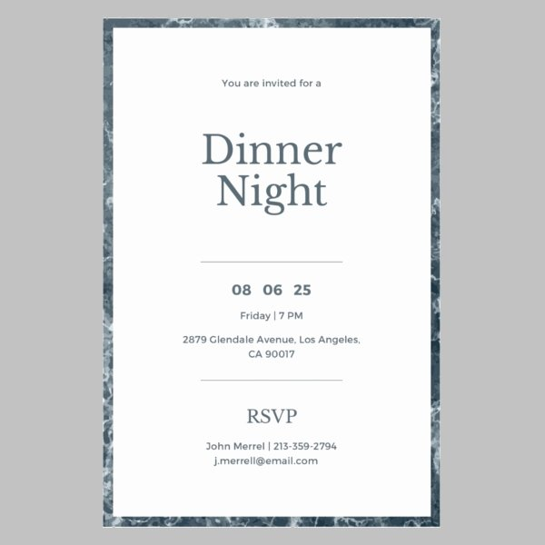 Formal Dinner Invitation Template Awesome 14 formal Dinner Invitations Psd Word Ai Publisher