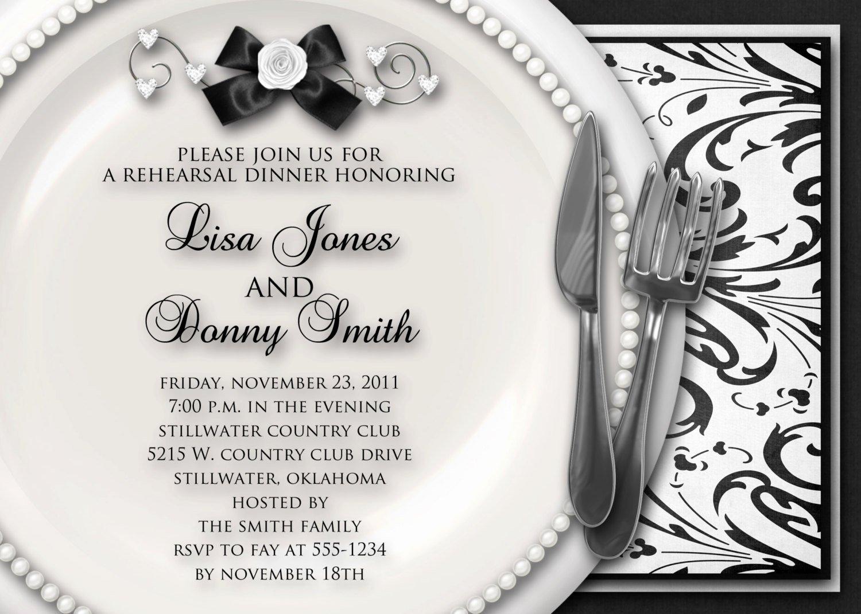 Formal Dinner Invitation Template Inspirational Dinner Party Invitation Sample