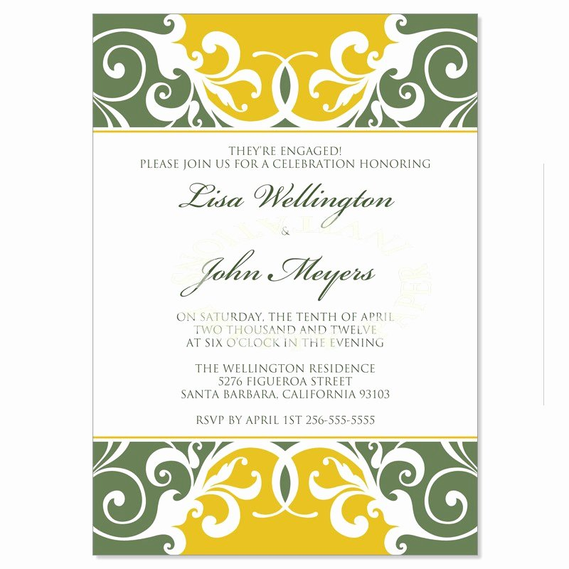 Formal Dinner Invitation Template Luxury formal Invitation Template