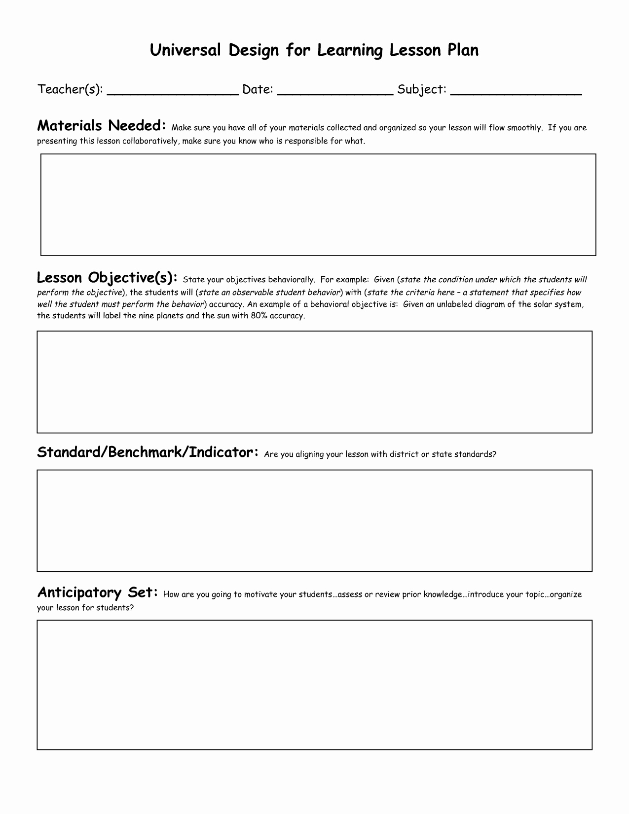 Formal Lesson Plan Template Fresh Lesson Plan Template Ideas On Pinterest