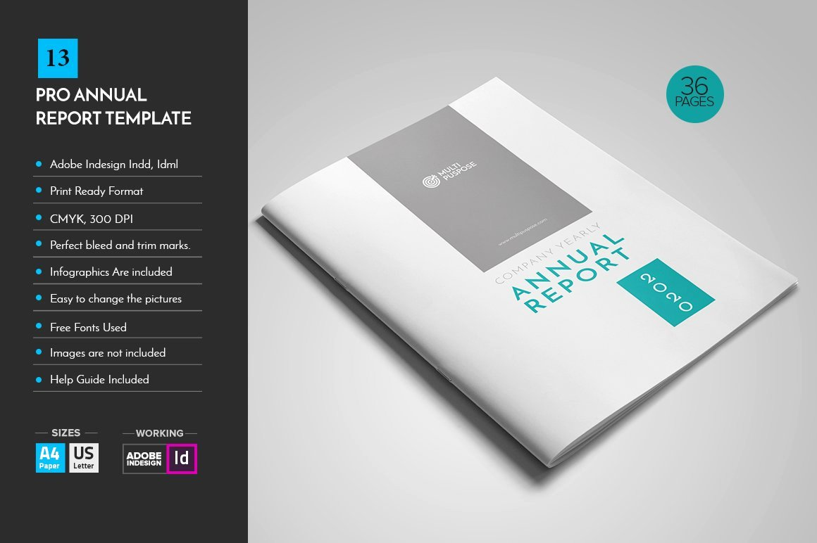 Free Annual Report Template Best Of Annual Report Template V13 Brochure Templates Creative