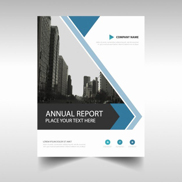Free Annual Report Template Inspirational Abstract Annual Report Brochure Template Vector