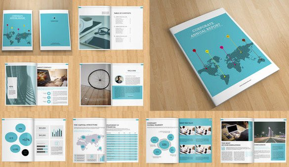 Free Annual Report Template Luxury Annual Report Template 39 Free Word Excel Pdf Ppt