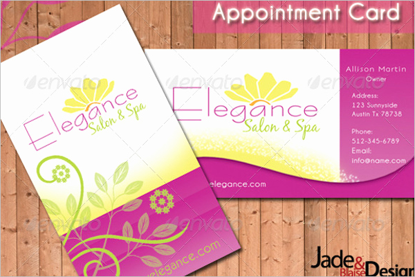 Free Appointment Card Template Lovely 22 Appointment Card Templates Free Psd Pdf Design Ideas