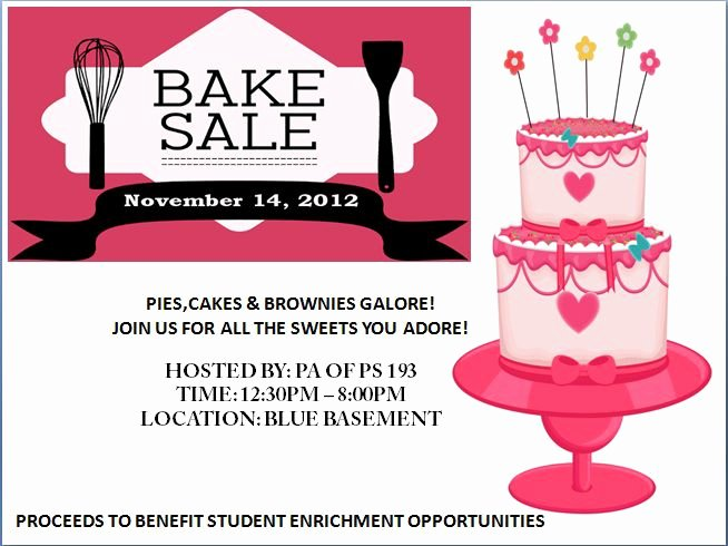 Free Bake Sale Template Awesome Engaging Free Bake Sale Flyer Templates for Fundraising