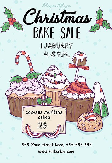 Free Bake Sale Template Awesome Free Bake Sale Flyer Template In Shop