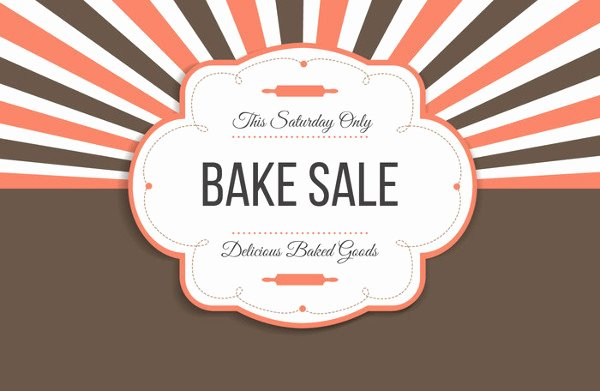 Free Bake Sale Template Best Of 14 Sample Bake Sale Flyer Templates Psd Ai Word