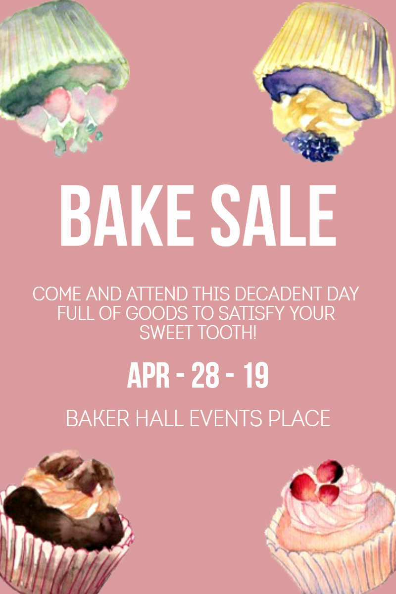 Free Bake Sale Template Best Of Bake Sale Business Templates Image Customize