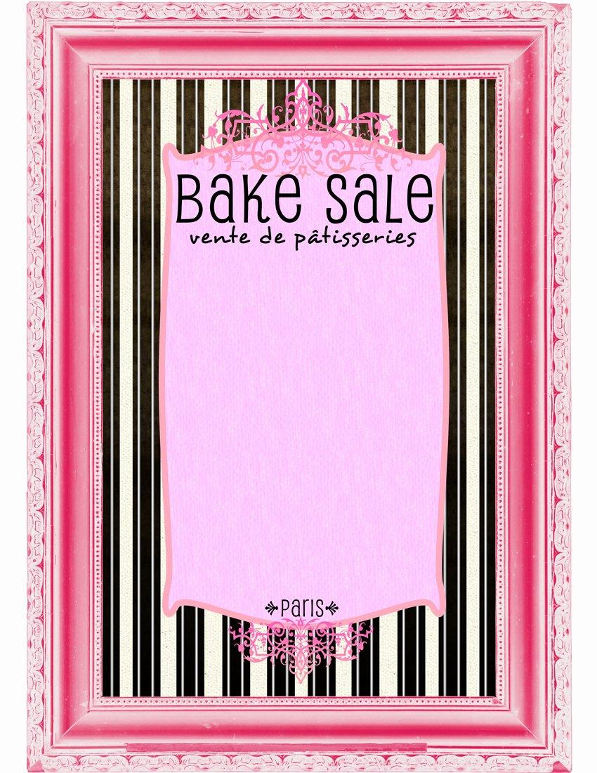 Free Bake Sale Template Best Of Bake Sale Flyers – Free Flyer Designs