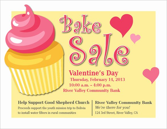 Free Bake Sale Template Lovely 34 Bake Sale Flyer Templates Free Psd Indesign Ai