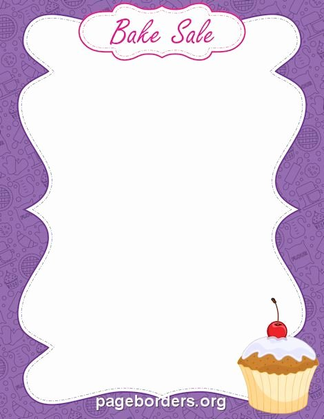Free Bake Sale Template New Pin by Erika Knuckles On so I Remember