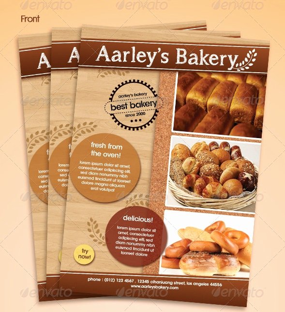 Free Bakery Menu Template Beautiful Free and Premium Food and Restaurant Menu Brochure
