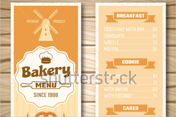 Free Bakery Menu Template Fresh 30 Bakery Menu Templates Free Designs Ideas Samples
