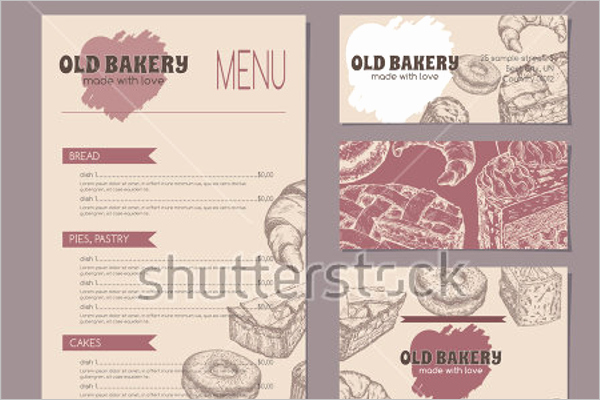 Free Bakery Menu Template New 30 Bakery Menu Templates Free Designs Ideas Samples