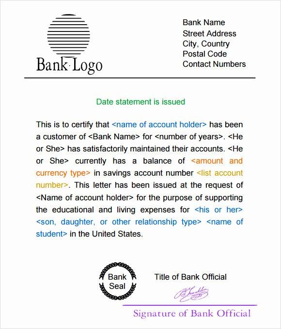 Free Bank Statement Template Inspirational 10 Bank Statement Templates – Free Samples Examples