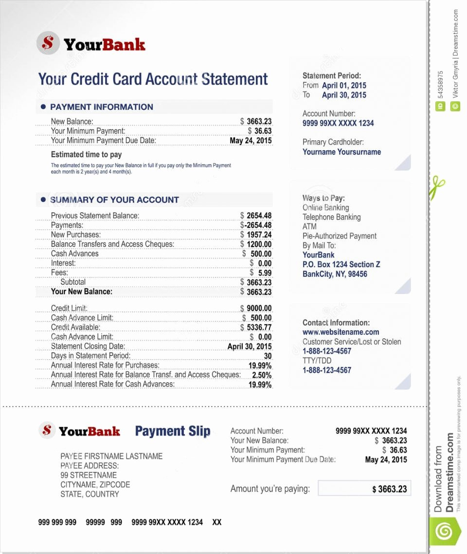 Free Bank Statement Template Lovely Free Bank Statement Template Line Blank Chase Obc Stock