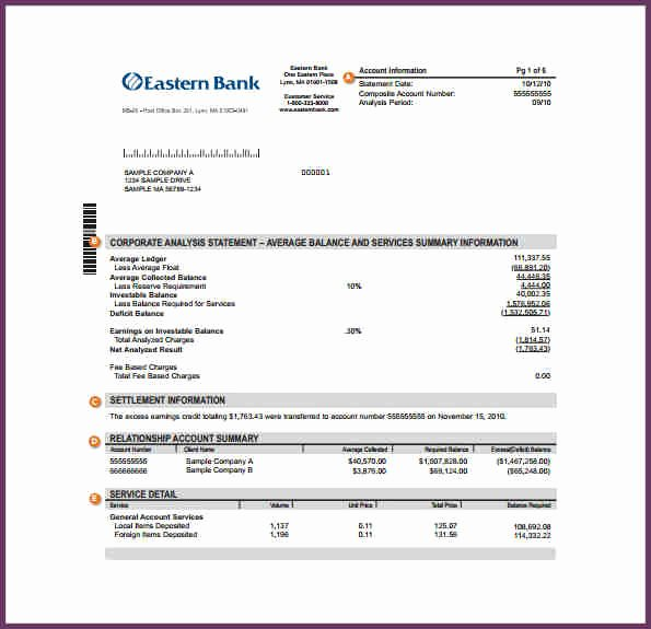 Free Bank Statement Template Unique Best form Template Download Proshredelite