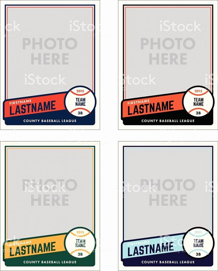 Free Baseball Card Template Best Of Baseball Card Template