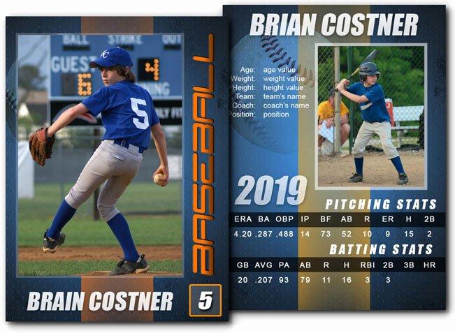 Free Baseball Card Template New 15 Psd Football Trading Card Baseball Trading