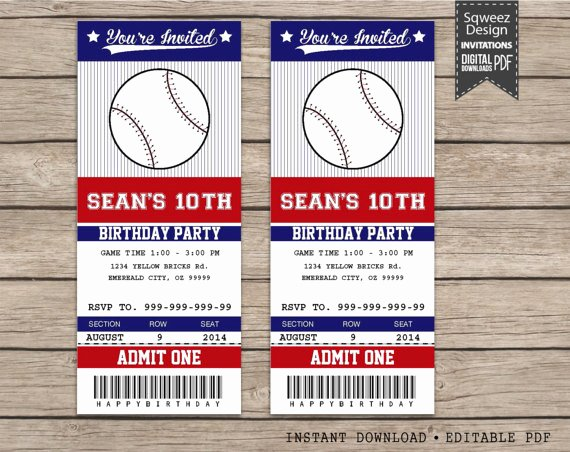 Free Baseball Ticket Template Lovely 29 Of Sports Ticket Template Printable