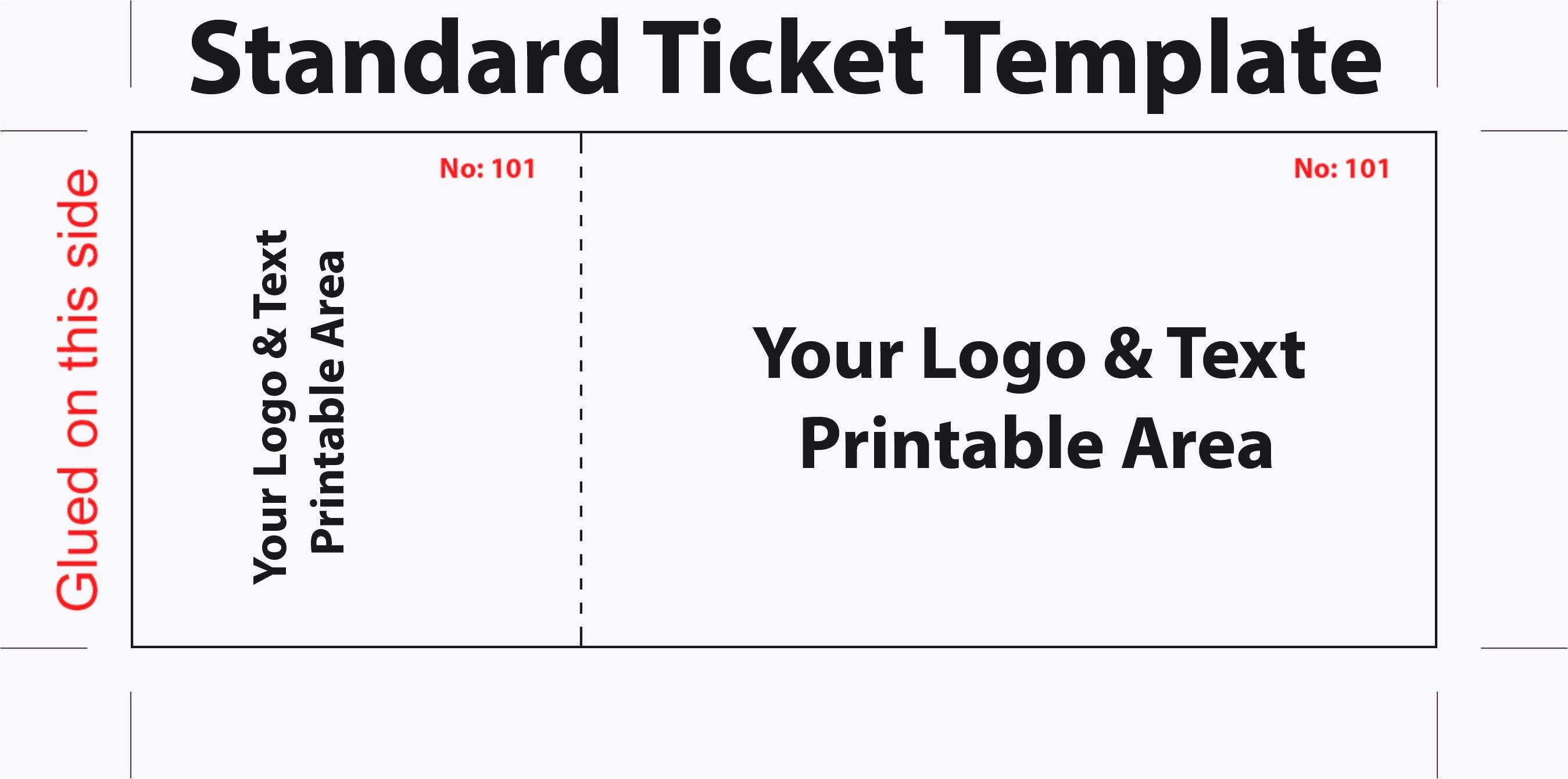Free Baseball Ticket Template Unique 15 Eintrittskarte Vorlage