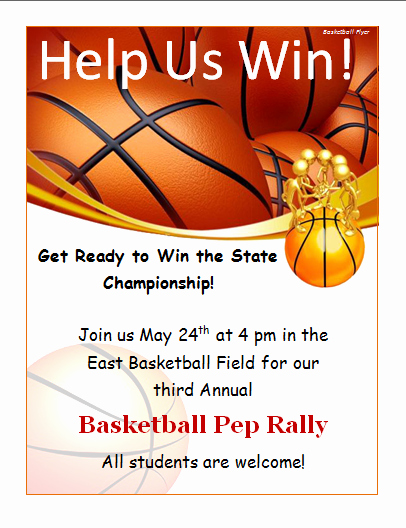 Free Basketball Flyer Template Awesome Basketball Flyer Template Word Education