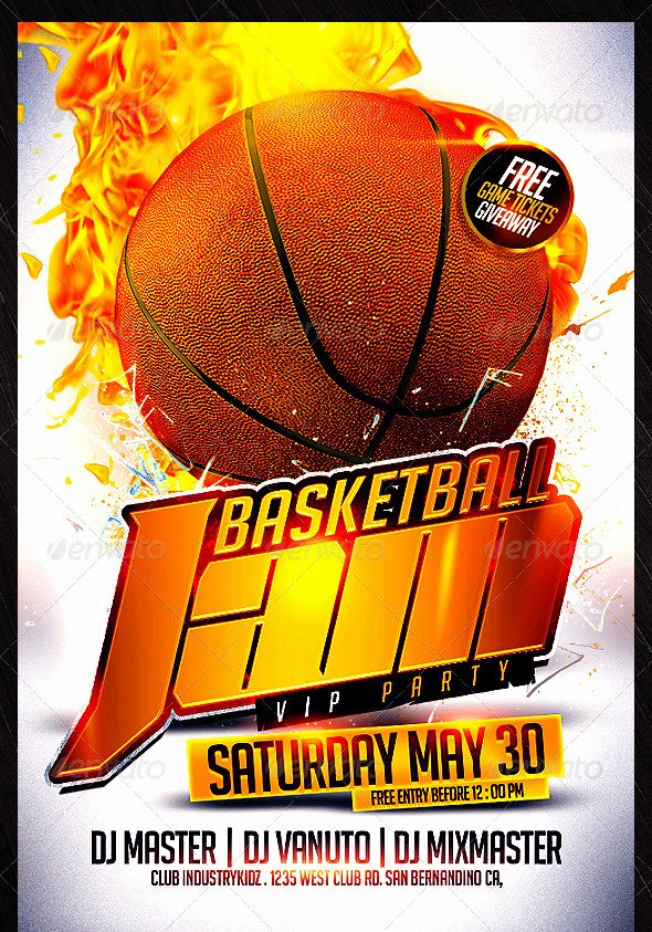Free Basketball Flyer Template Fresh 31 Basketball Flyers Psd Ai Vector Eps