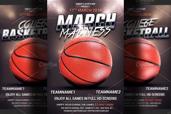 Free Basketball Flyer Template Inspirational Basketball Flyer Template Flyer Templates Creative Market