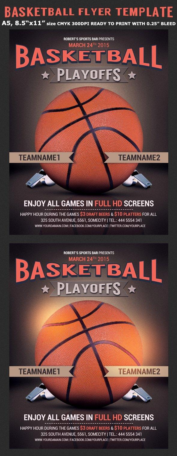 Free Basketball Flyer Template Inspirational Basketball Flyer Template